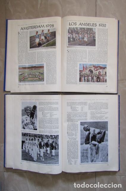 Militaria: 2 antiguos álbumes de cromos alemán editado en el III reich Olimpiadas Berlín Juegos Olímpicos 1936 - Foto 8 - 169221904
