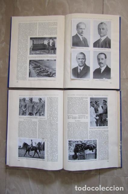 Militaria: 2 antiguos álbumes de cromos alemán editado en el III reich Olimpiadas Berlín Juegos Olímpicos 1936 - Foto 10 - 169221904