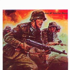 Militaria: CABEZA DE PUENTE. DIARIO DE UN SOLDADO DE HITLER. DIVISIÓN AZUL. Lote 180994607