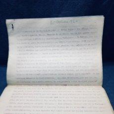 Militaria: DOCUMENTO MILITAR MELILLA 1920 . Lote 170370152