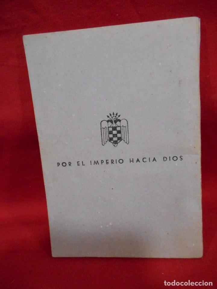 Militaria: MANUAL DEL ACAMPADO - EDICIONES FRENTE DE JUVENTUDES. MADRID. 1950 - Foto 2 - 171349958