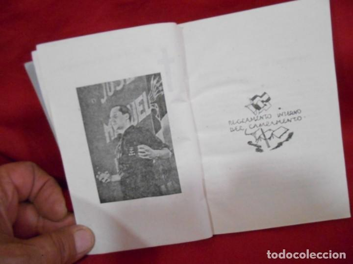Militaria: MANUAL DEL ACAMPADO - EDICIONES FRENTE DE JUVENTUDES. MADRID. 1950 - Foto 3 - 171349958