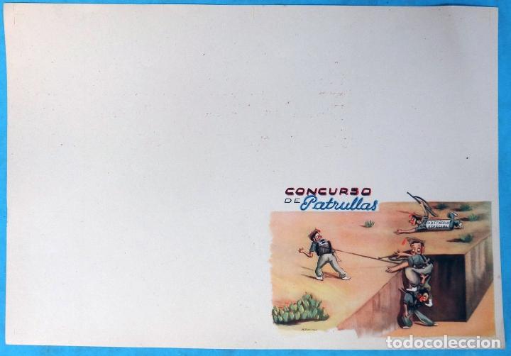 Militaria: CARTEL, PORTADA DE FOLLETO, 25 AÑOS POR ESPAÑA, DE VIDA MUERTE ,LA LEGION ESPAÑOLA + 4 HOJAS - Foto 3 - 170879635