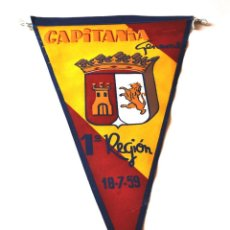 Militaria: BANDERIN CAPITANIA GENERAL. Lote 171974952