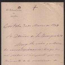 Militaria: CORDOBA, -EL LIBERALISMO ES PECADO-- A LA RECONQUISTA., AÑO 1907, VER FOTOS. Lote 172427768