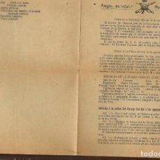 Militaria: REGIMIENTO DE INFANTERIA. ASIA, Nº 55. GERONA, 18 AGOSTO 1921. (ST/C53). Lote 174061449