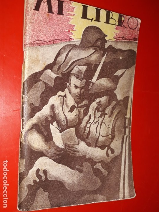 MI LIBRO , LITOGRAFIA E IMPRENTA ROEL, LA CORUÑA (Militar - Propaganda y Documentos)
