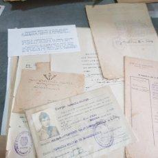 Militaria: HISTORIAL SOLDADO ESPAÑOL DEL IX EJÉRCITO,92 DIVISION -LARACHE-MARRUECOS MUY COMPLETO . Lote 175049604