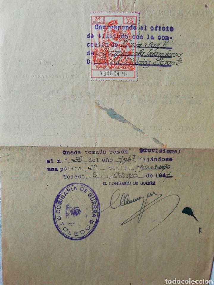 Militaria: Telegrama concesión Orden de San Hermenegildo - Foto 2 - 175115722