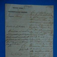 Militaria: DOCUMENTO MILITAR. 1864. Lote 175283539