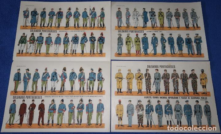 LAMINAS SOLDADOS PORTUGUESES (Militar - Propaganda y Documentos)