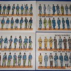 Militaria: LAMINAS SOLDADOS PORTUGUESES. Lote 175721222
