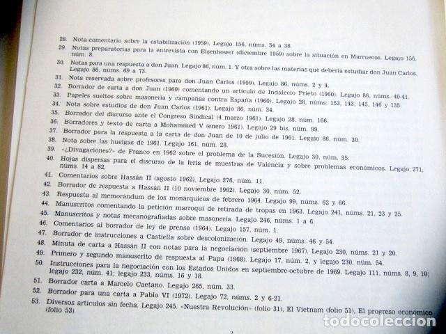 Militaria: MANUSCRITOS DE FRANCO CON SU TRANSCRIPCIÓN. LOTE DE 27 DOCUMENTOS FAXÍMILES. - Foto 11 - 176103800