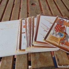 Militaria: HISTORIA DE LA MARINA ESPAÑOLA PUBLICIDAD KELLOGGS 24 LAMINAS NUMERADAS. Lote 176326992