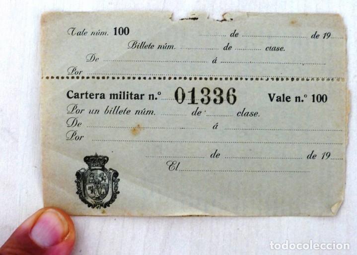 Militaria: ARMADA ESPAÑOLA. CARTERA DE IDENTIDAD MILITAR DE UN OFICIAL (TENIENTE DE NAVÍO) ÉPOCA ALFONSO XIII - Foto 4 - 176452944