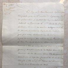 Militaria: DOCUMENTO.GUERRA DE LA INDEPENDENCIA ESPAÑOLA. SEVILLA 30 DE DICIEMBRE DE 1808.. Lote 177193429