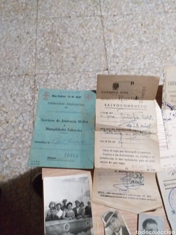 Militaria: PUEBLO SALOMÓ(TARRAGONA)DOCUMENTOS ,CARTILLAS ALGUNOS EPOCA GUERRA CIVIL - Foto 4 - 177619418