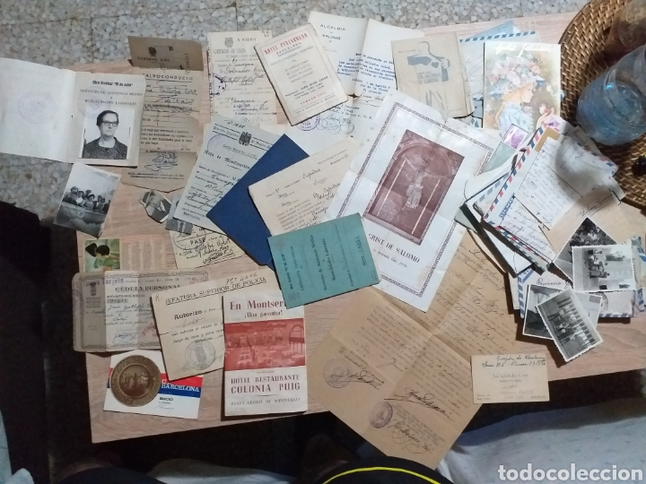 PUEBLO SALOMÓ(TARRAGONA)DOCUMENTOS ,CARTILLAS ALGUNOS EPOCA GUERRA CIVIL (Militar - Propaganda y Documentos)