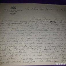 Militaria: ANTIGUA HOJA MILITAR REGIMIENTO INFANTERÍA ESPAÑA 2° BATALLÓN AÑO 1944. Lote 177684619