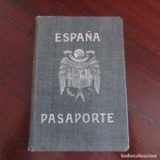 Militaria: PASAPORTE FALANGISTA , FRANCO GUERRA CIVIL. 1937. Lote 178777663