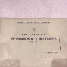 Militaria: ARMAMENTO Y MATERIAL AÑOS 60. EJERCITO ESPAÑOL.VER FOTOS. Lote 179022895