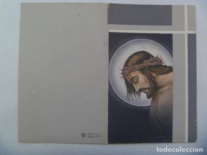 RECORDATORIO TENIENTE CORONEL ARTILLERIA MEDALLA LAUREADA COLECTIVA CASTILLO OLITE. MERIDA, 1968 (Militar - Propaganda y Documentos)
