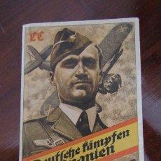 Militaria: ANTIGUO CURIOSO LIBRO EDITADO EN ALEMANIA EN 1939 SOBRE EL PAPEL DE LA LEGION CONDOR EN ESPAÑA. Lote 179035472
