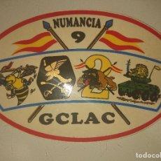 Militaria: PEGATINA DEL GCLAC NUMANCIA 9, LEER DESCRIPCION. Lote 180515411