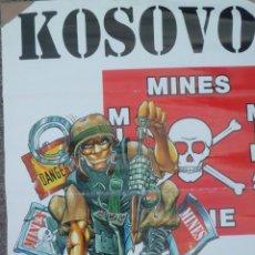 Militaria: GRAN CARTEL DE KOSOVO-KFOR, FF. AÑOS 90. Lote 181780905