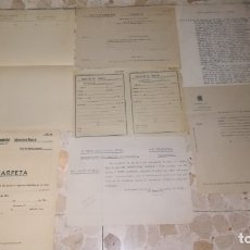 Militaria: LOTE ANTIGUOS DOCUMENTOS DE LA GUARDIA CIVIL, EPOCA FRANQUISTA. Lote 182401156