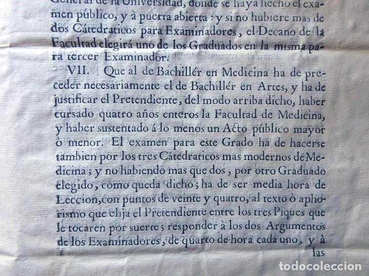 Militaria: (JX-191120)Real Cédula , Carlos III , 1770 , reimpresa en la Universidad de Cervera . - Foto 12 - 182493598