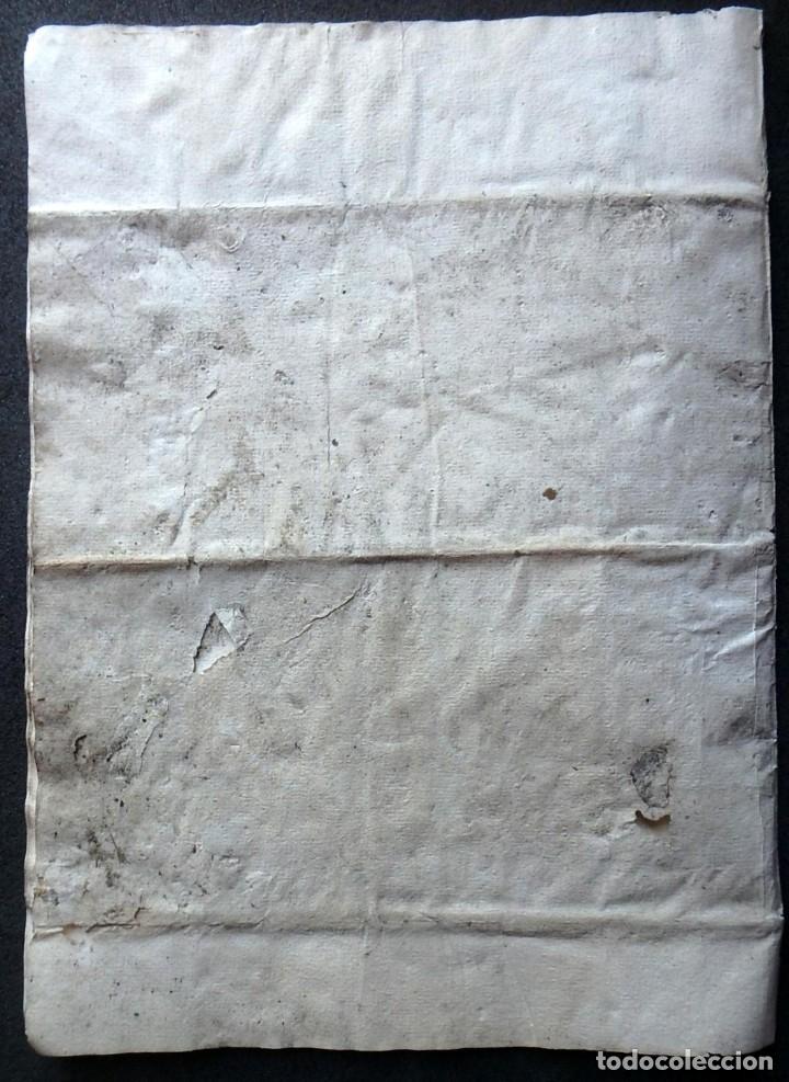 Militaria: (JX-191120)Real Cédula , Carlos III , 1770 , reimpresa en la Universidad de Cervera . - Foto 21 - 182493598