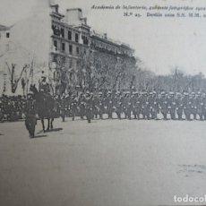 Militaria: POSTAL ACADEMIA DE INFANTERÍA Nº 23. MADRID 1912 PELAEZ. Lote 182730111