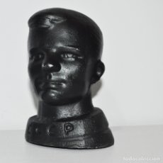 Militaria: URSS UNIÓN SOVIÉTICA. BUSTO DEL AUSTRONAUTA YURI GARARIN , SILUMINA. Lote 182902233