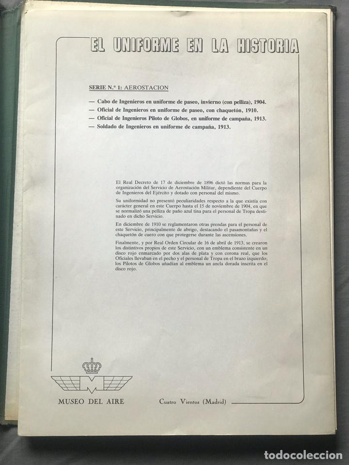 "Militaria: ANTIGUA SERIE DEL 1 al 7 ""EL UNIFORME EN LA HISTORIA"" - Foto 2 - 183554597"