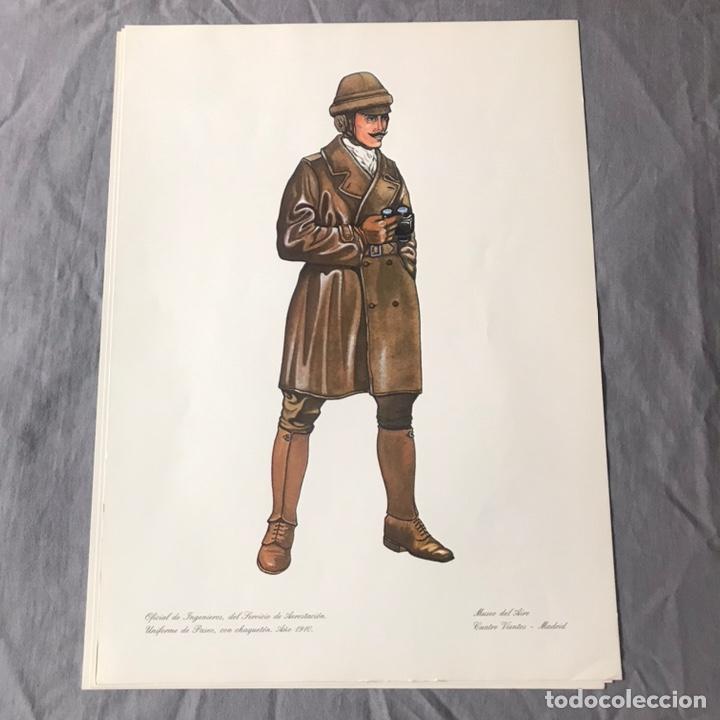 "Militaria: ANTIGUA SERIE DEL 1 al 7 ""EL UNIFORME EN LA HISTORIA"" - Foto 4 - 183554597"