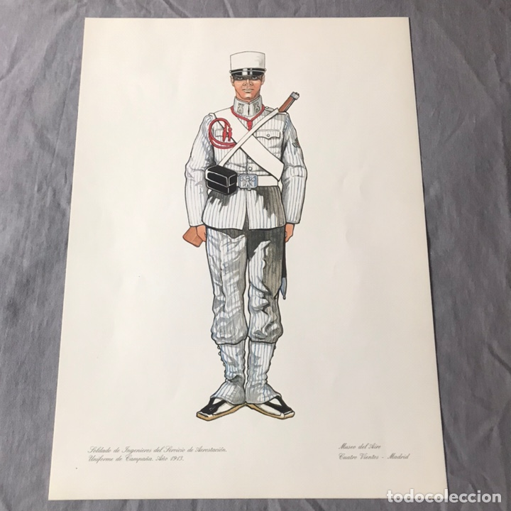 "Militaria: ANTIGUA SERIE DEL 1 al 7 ""EL UNIFORME EN LA HISTORIA"" - Foto 6 - 183554597"