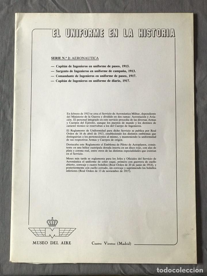 "Militaria: ANTIGUA SERIE DEL 1 al 7 ""EL UNIFORME EN LA HISTORIA"" - Foto 7 - 183554597"