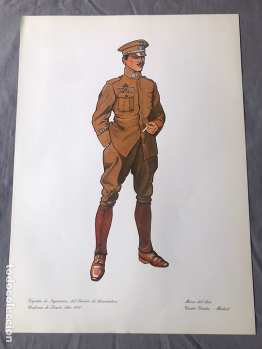 "Militaria: ANTIGUA SERIE DEL 1 al 7 ""EL UNIFORME EN LA HISTORIA"" - Foto 11 - 183554597"