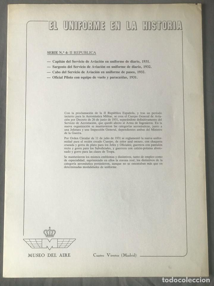 "Militaria: ANTIGUA SERIE DEL 1 al 7 ""EL UNIFORME EN LA HISTORIA"" - Foto 17 - 183554597"