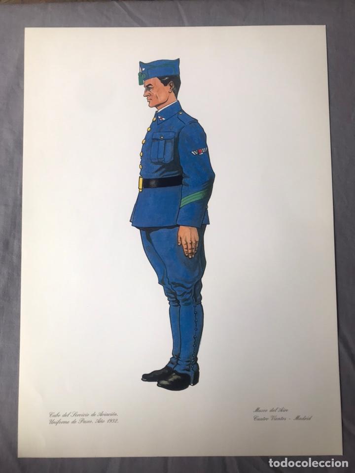 "Militaria: ANTIGUA SERIE DEL 1 al 7 ""EL UNIFORME EN LA HISTORIA"" - Foto 20 - 183554597"