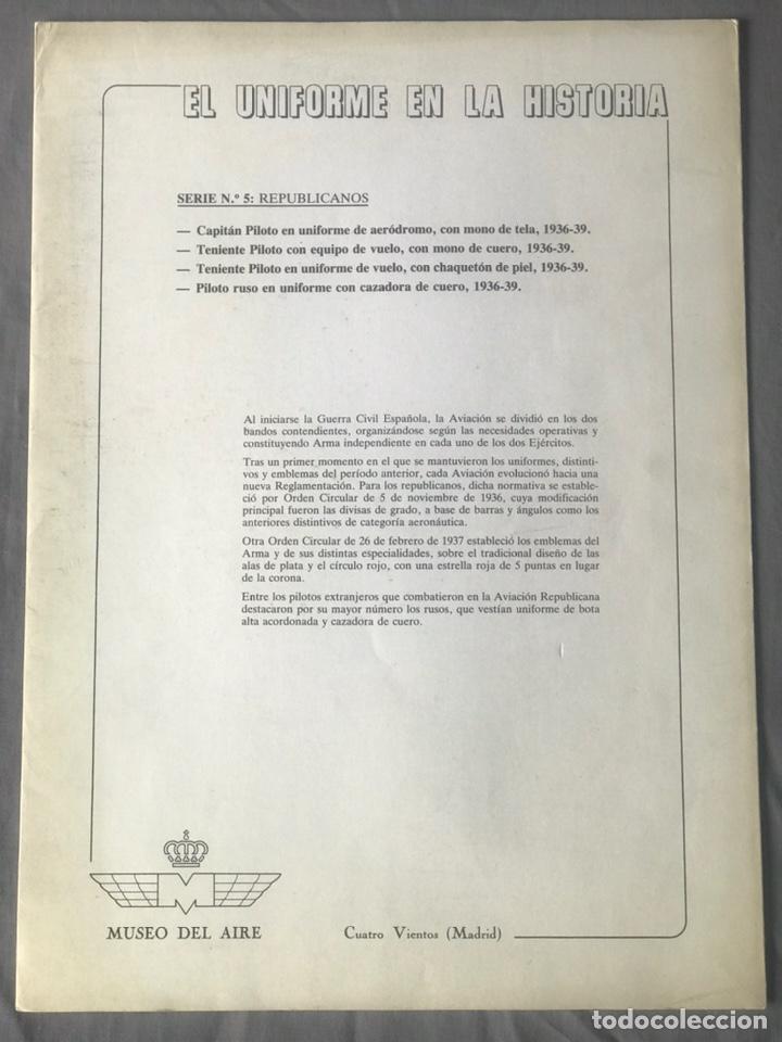 "Militaria: ANTIGUA SERIE DEL 1 al 7 ""EL UNIFORME EN LA HISTORIA"" - Foto 22 - 183554597"