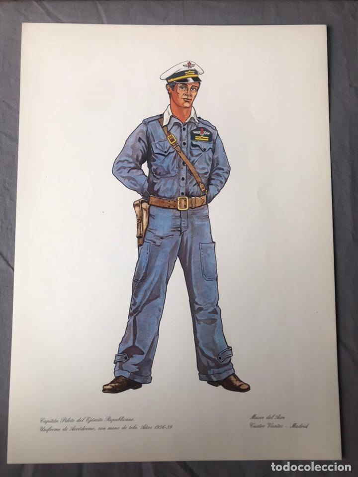 "Militaria: ANTIGUA SERIE DEL 1 al 7 ""EL UNIFORME EN LA HISTORIA"" - Foto 23 - 183554597"