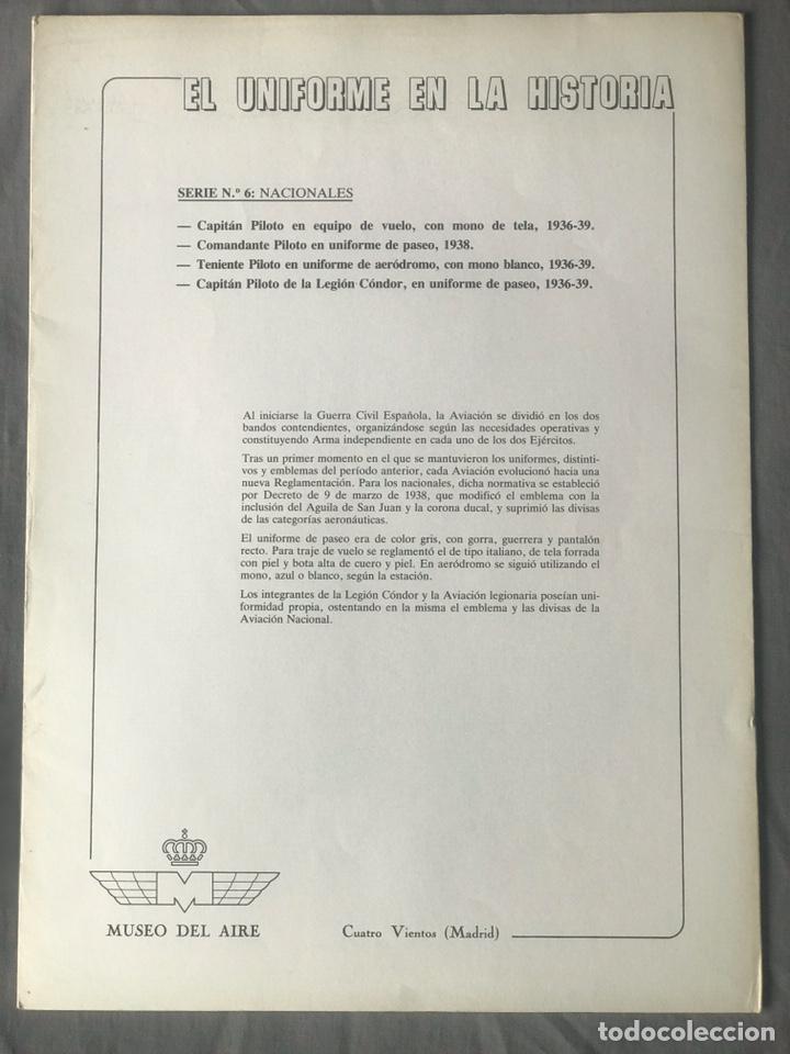 "Militaria: ANTIGUA SERIE DEL 1 al 7 ""EL UNIFORME EN LA HISTORIA"" - Foto 27 - 183554597"