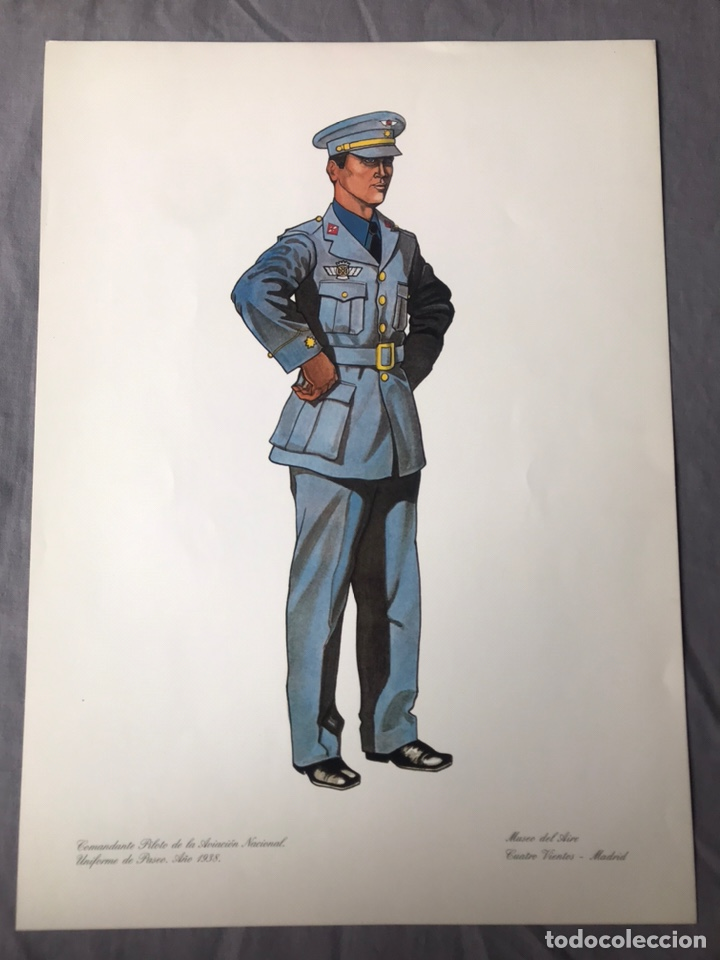 "Militaria: ANTIGUA SERIE DEL 1 al 7 ""EL UNIFORME EN LA HISTORIA"" - Foto 29 - 183554597"