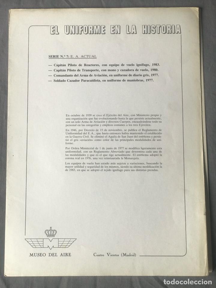 "Militaria: ANTIGUA SERIE DEL 1 al 7 ""EL UNIFORME EN LA HISTORIA"" - Foto 32 - 183554597"