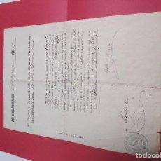 Militaria: EXENCION DEL SERVICIO MILITAR POR PAGO 1903. Lote 183935588