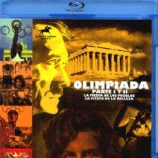 Militaria: OLIMPIADA I Y II LENI RIEFENSTAHL BLU-RAY DISC BD EDICIÓN OFICIAL COLECCIONISTAS 2 BLU-RAY NOVEDAD. Lote 268893129