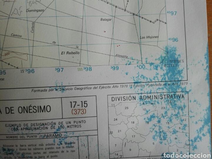 Militaria: MAPA MILITAR QUINTANILLA ONESIMO INSTITUTO GEOGRÁFICO EJERCITO - Foto 5 - 184447393