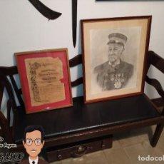 Militaria: DIPLOMA MEDALLA DE ORO SOCIEDAD ESPAÑOLA DE SALVAMENTO DE NÁUFRAGOS (1906) - ANTONIO ROLDÓS Y BALETA. Lote 187115603